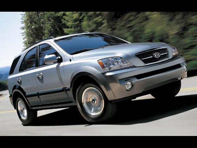 Junk 2006 Kia Sorento in Redding