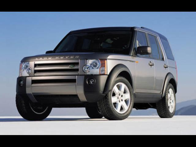 Junk 2006 Land Rover LR3 in Houston