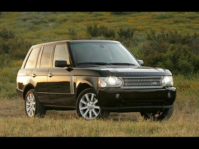 Junk 2006 Land Rover Range Rover in Tampa
