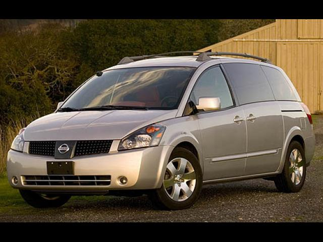 Junk 2006 Nissan Quest in Miami