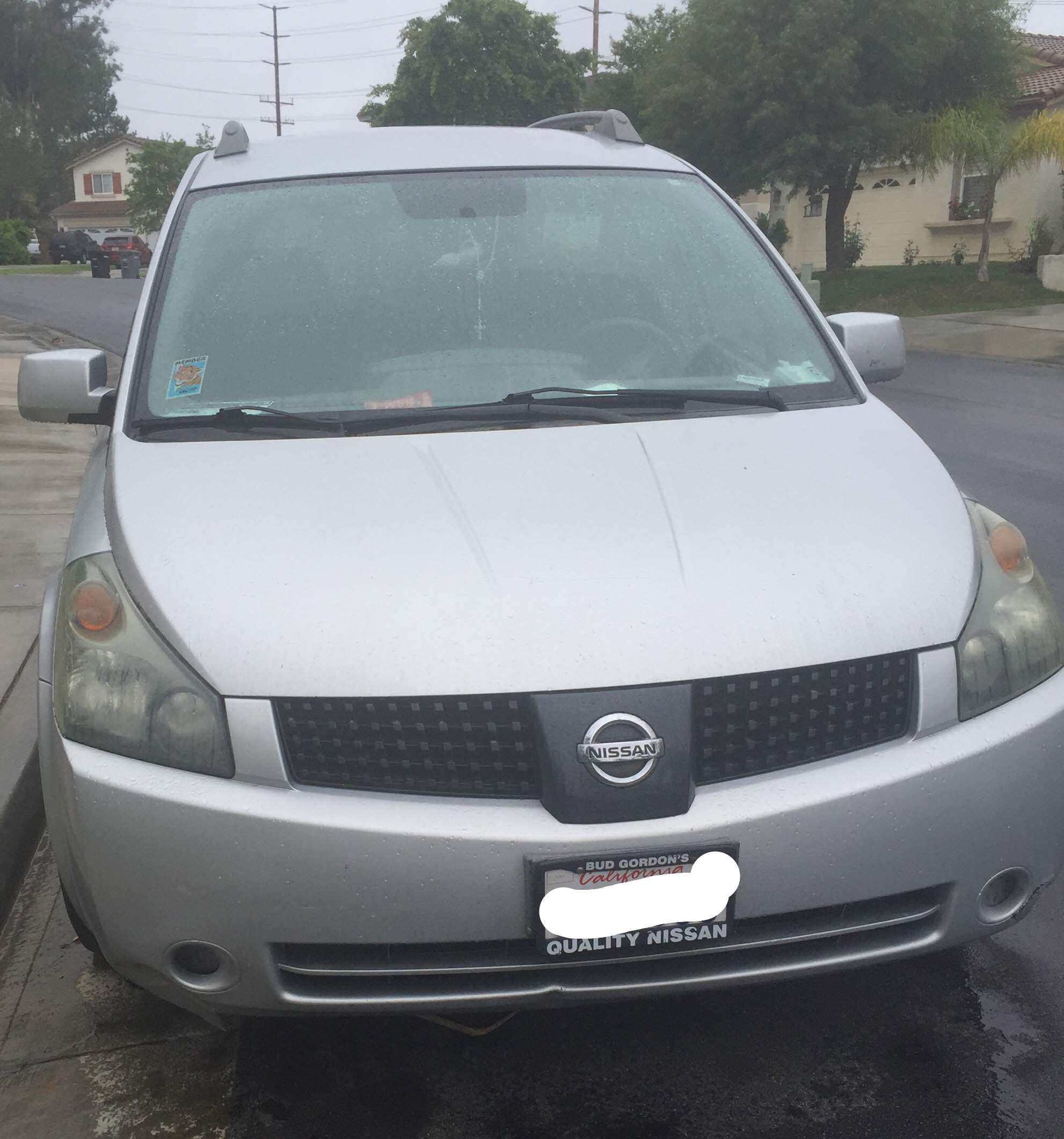 Junk 2006 Nissan Quest in Temecula