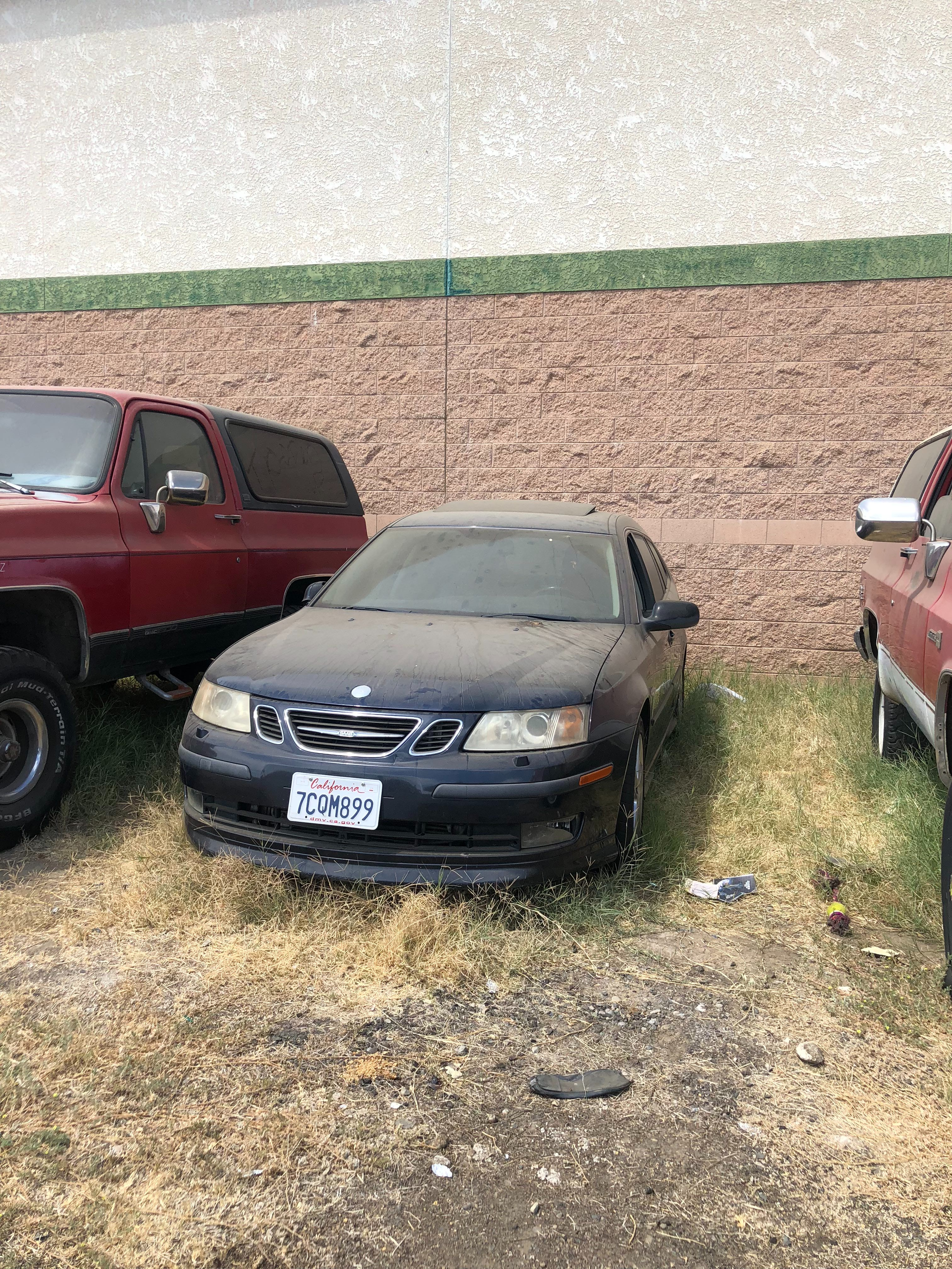 Junk 2006 Saab 9-3 in Merced