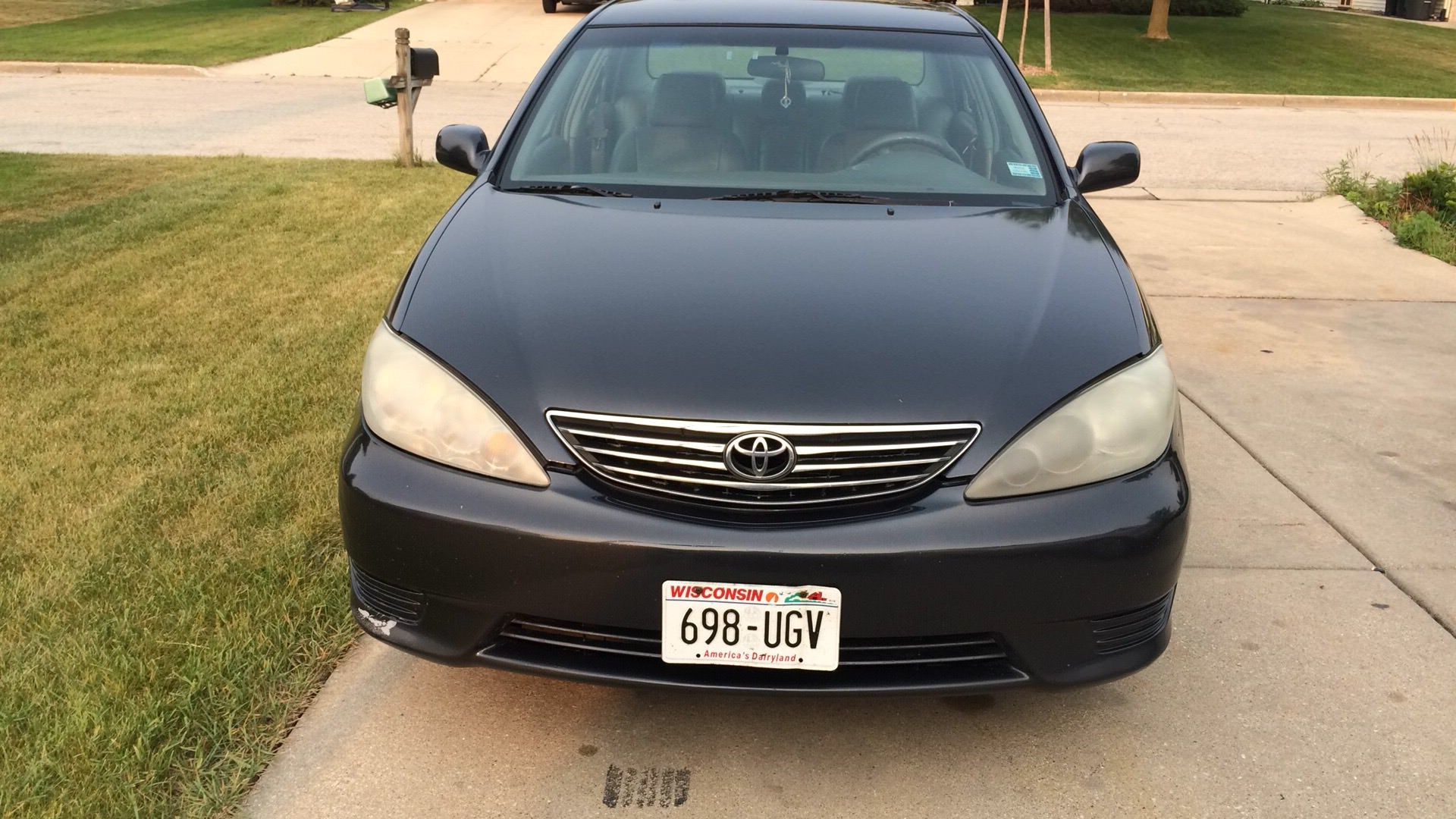 Junk 2006 Toyota Camry in South Milwaukee