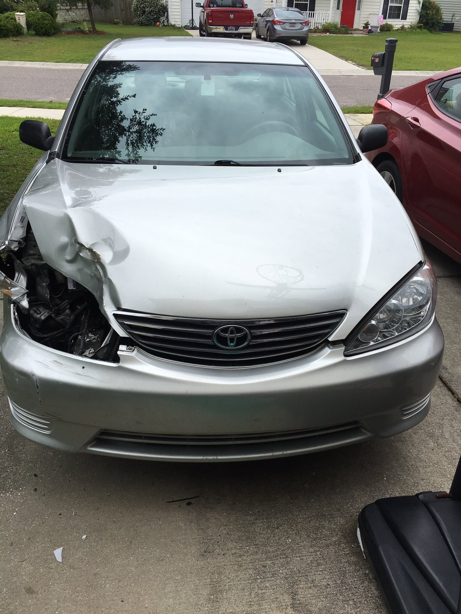 Junk 2006 Toyota Camry in Summerville