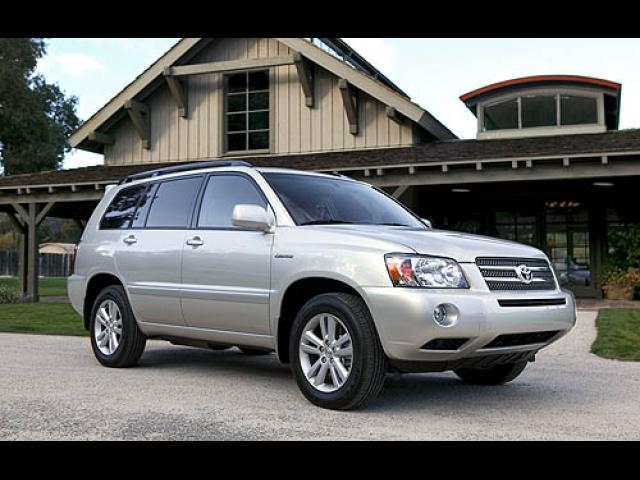 Junk 2006 Toyota Highlander in Columbia