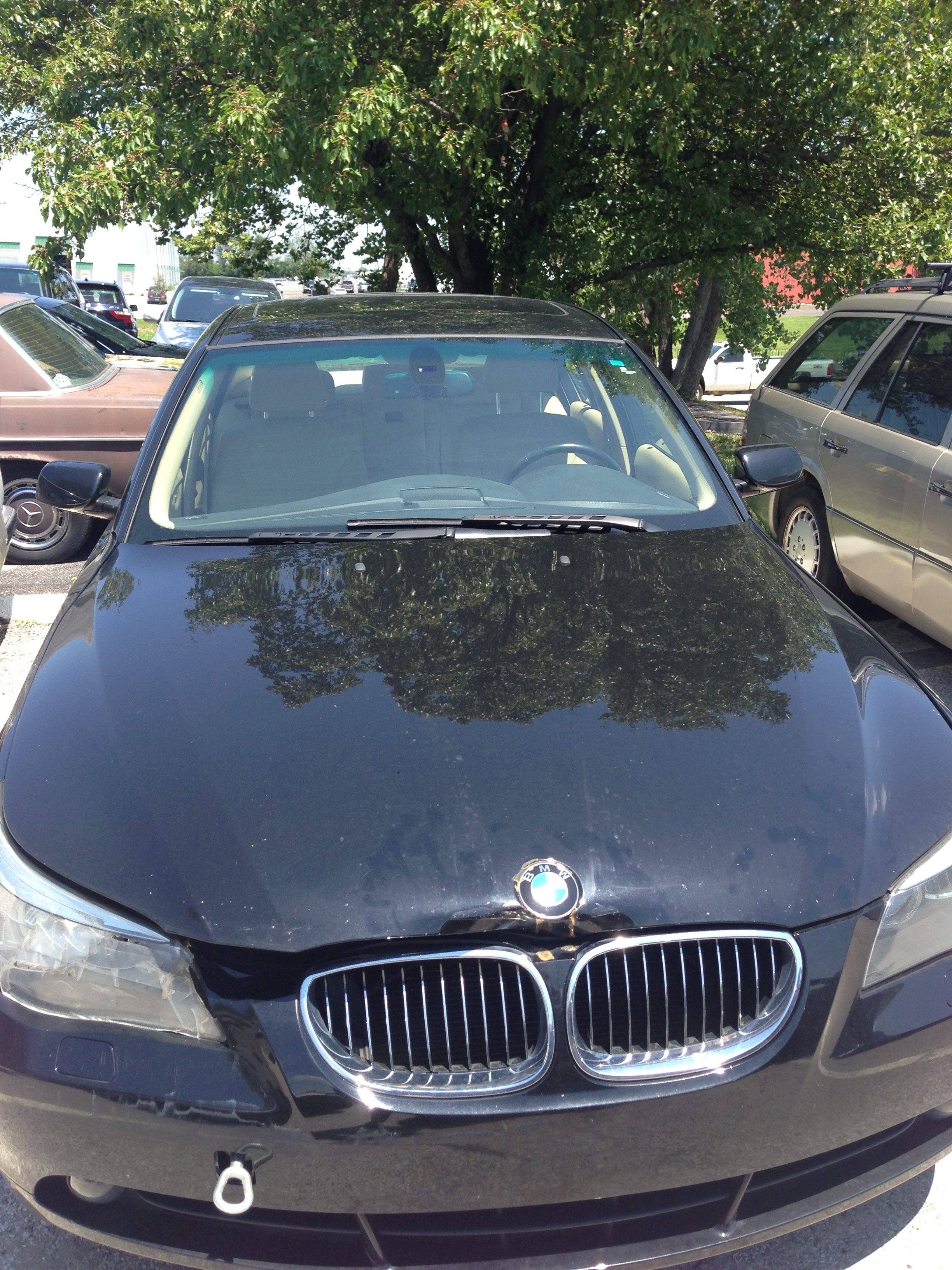 Junk 2007 BMW 525 in Leawood