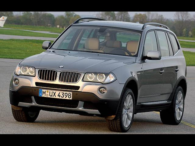 Junk 2007 BMW X3 in Tracy