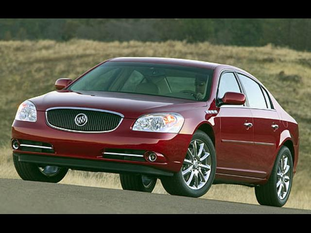 Junk 2007 Buick Lucerne in Fords