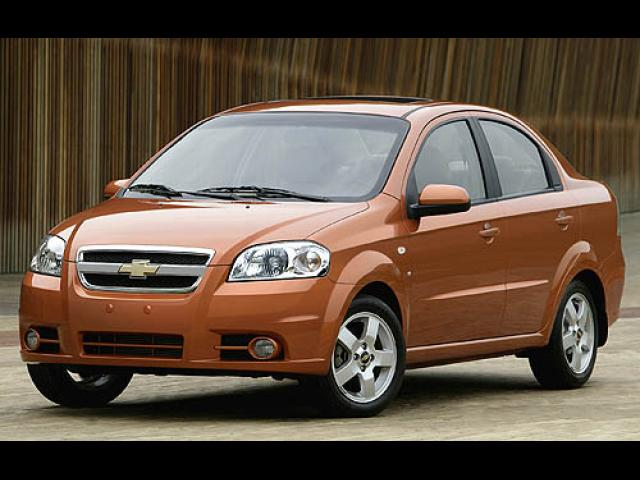 Junk 2007 Chevrolet Aveo in Santa Fe Springs