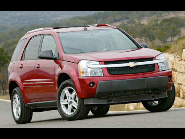 Junk 2007 Chevrolet Equinox in Ledyard