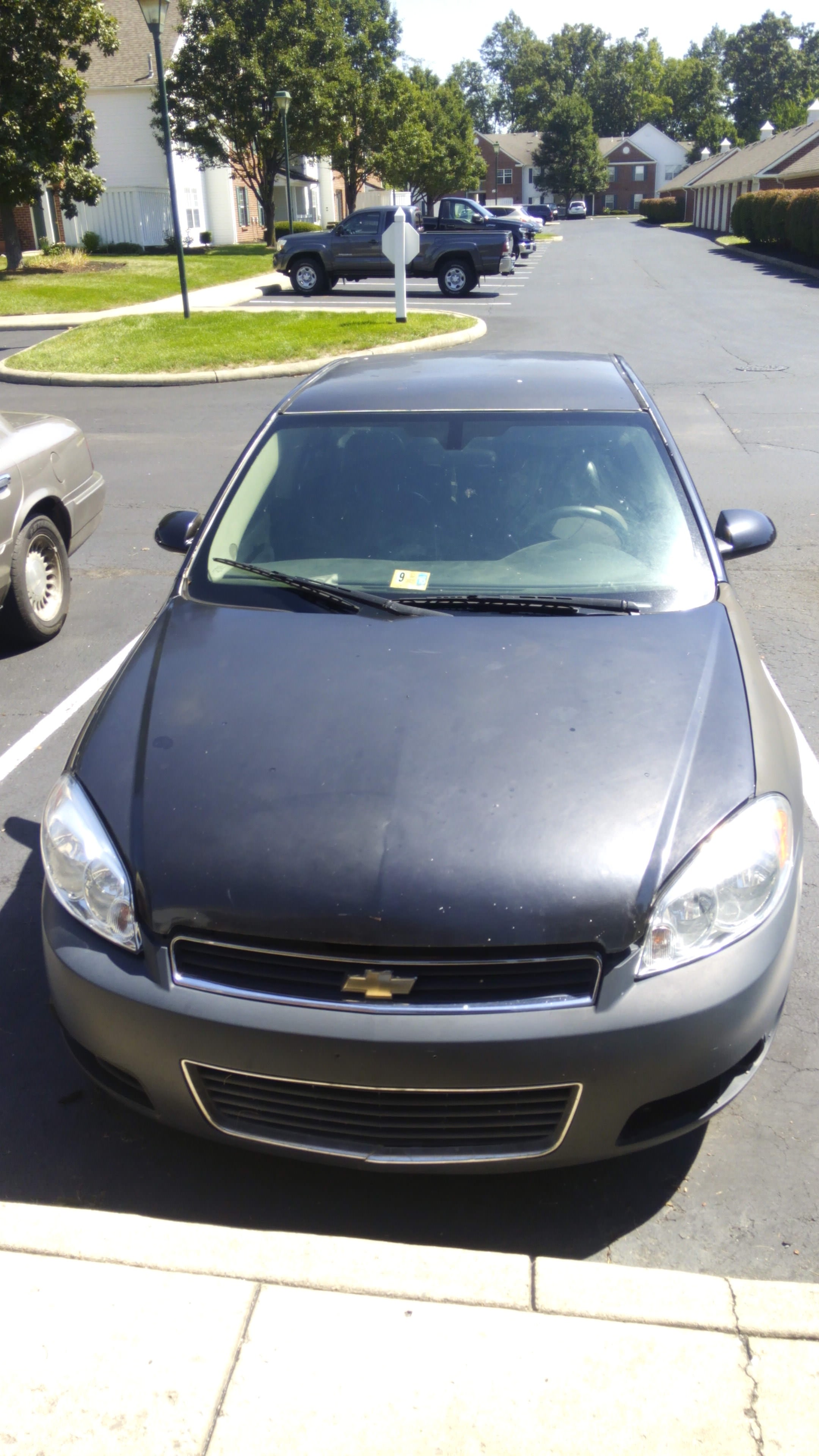 Junk 2007 Chevrolet Impala in New Albany