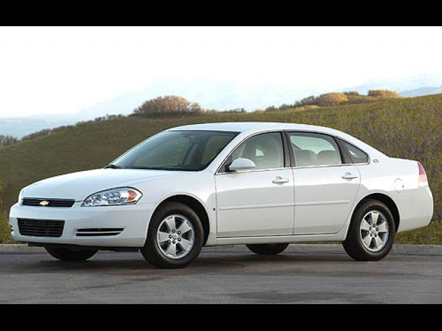 Junk 2007 Chevrolet Impala in North Richland Hills