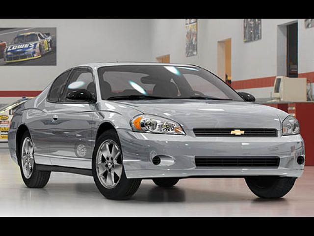 Junk 2007 Chevrolet Monte Carlo in Woodway