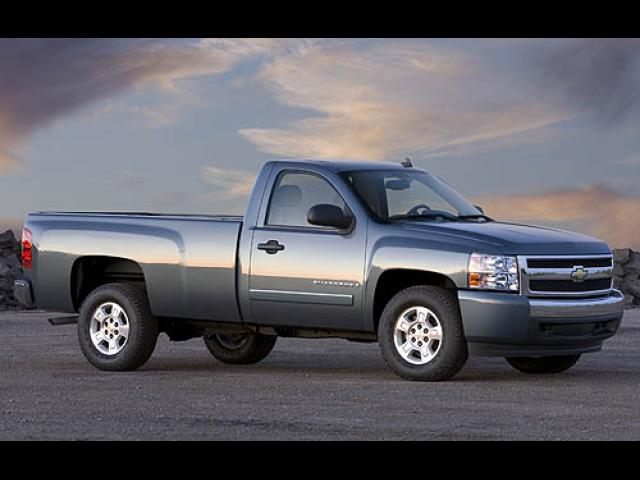 Junk 2007 Chevrolet Silverado in Gray