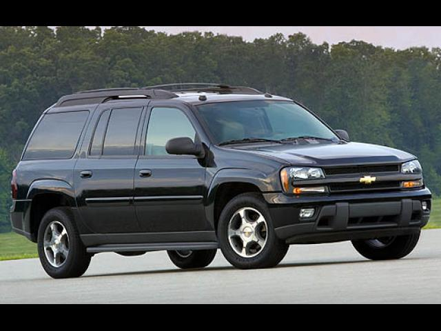 Junk 2007 Chevrolet TrailBlazer in Rison