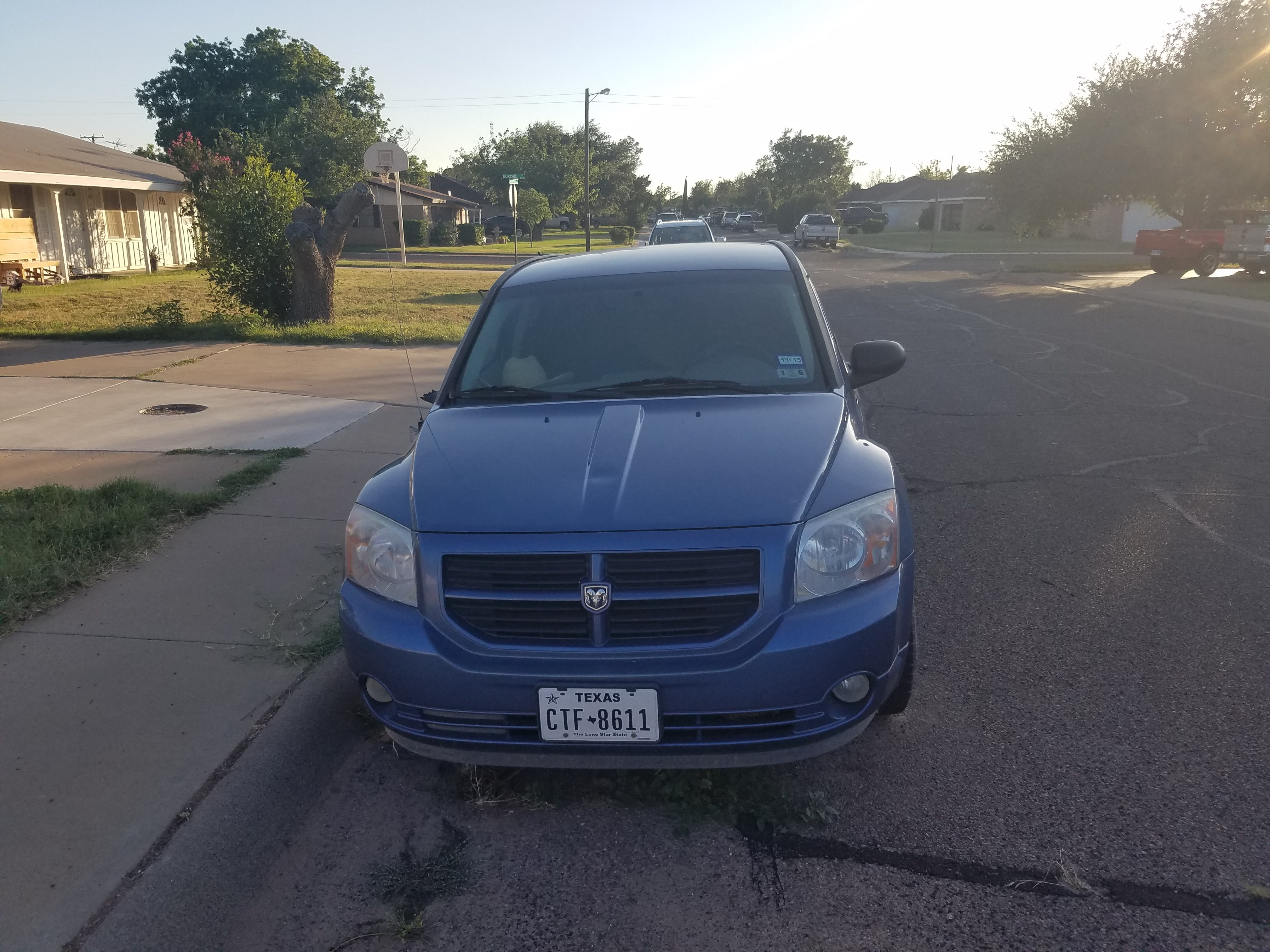 Junk 2007 Dodge Caliber in Midland