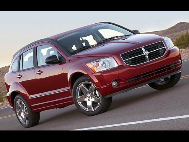 Junk 2007 Dodge Caliber in Pearl