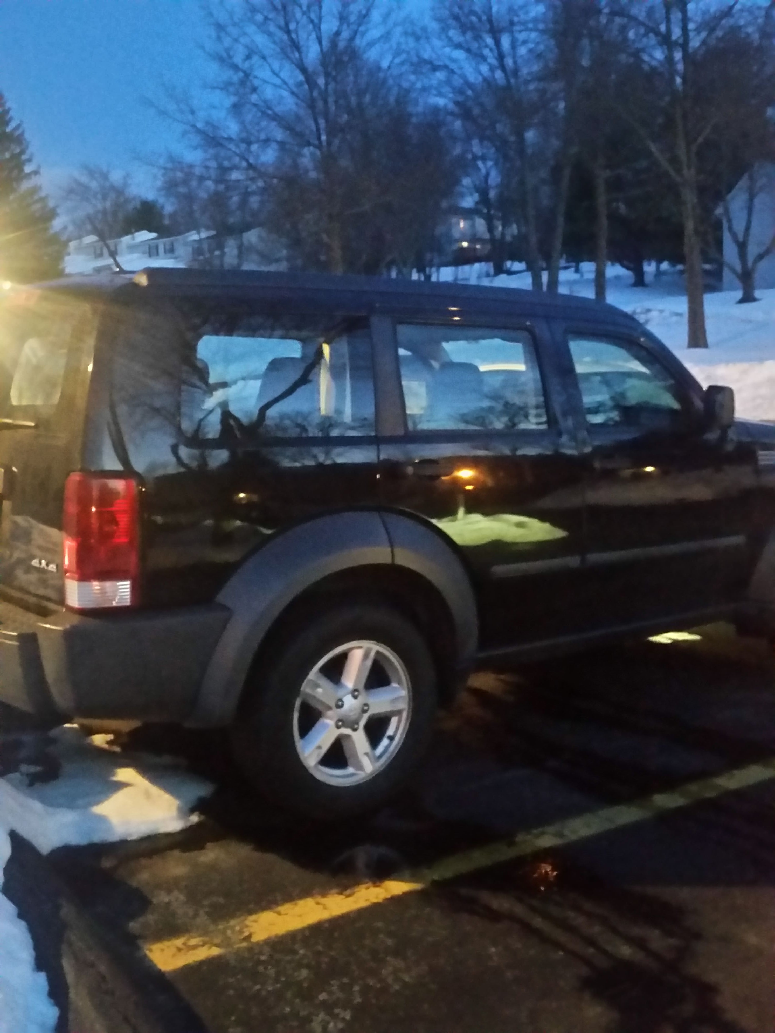 Junk 2007 Dodge Nitro in Fishkill