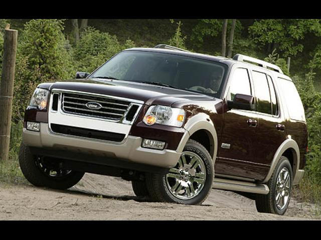 Junk 2007 Ford Explorer in Houston