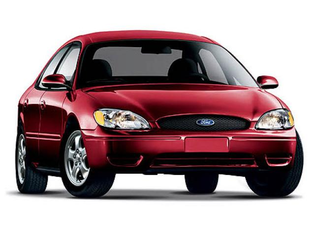 Junk 2007 Ford Taurus in Mart