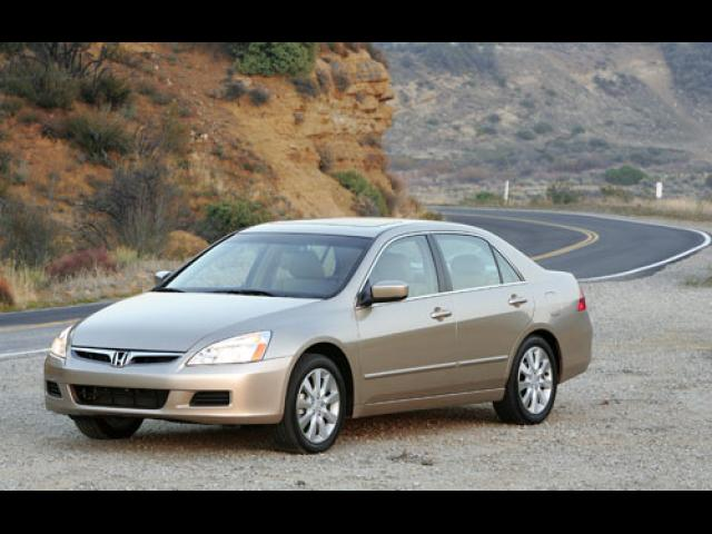 Junk 2007 Honda Accord in Bullard