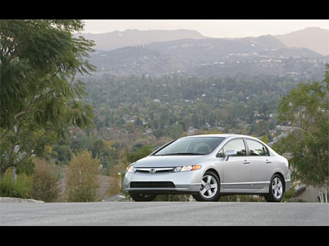 Junk 2007 Honda Civic in Bellingham