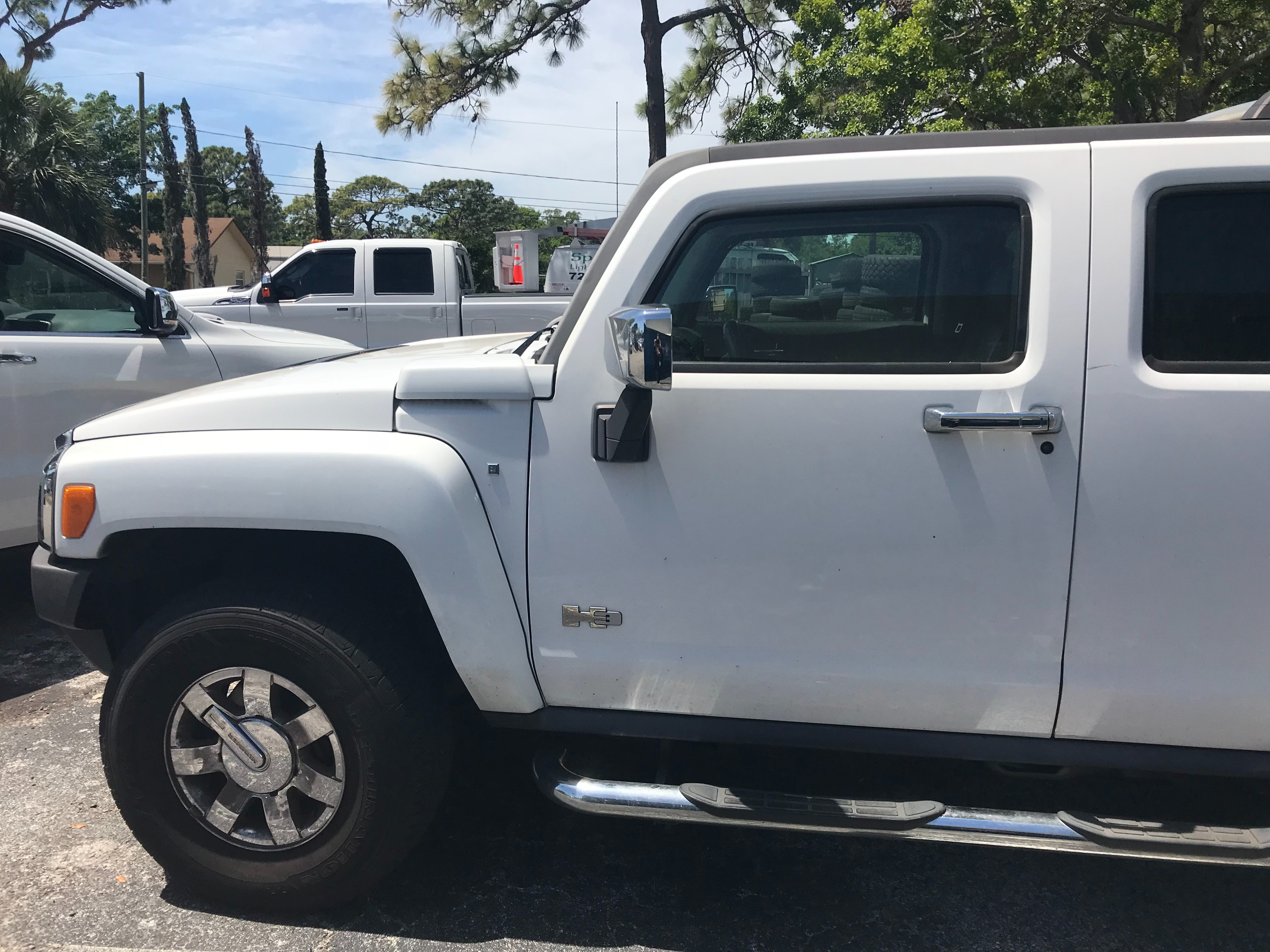 Junk 2007 Hummer H3 in Clearwater