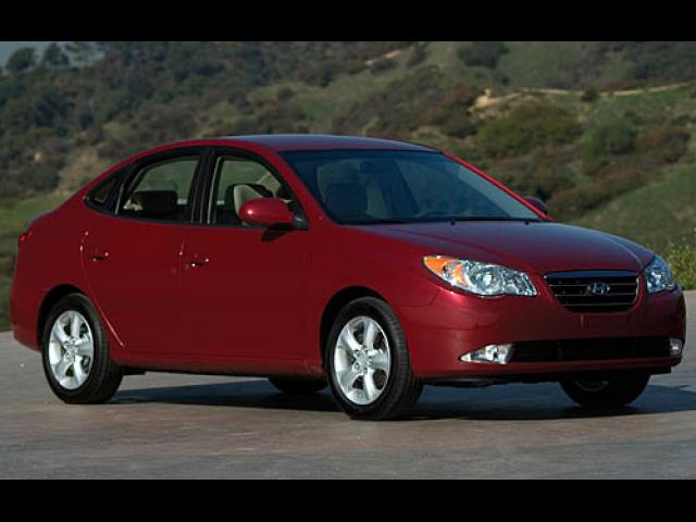 Junk 2007 Hyundai Elantra in Tracy