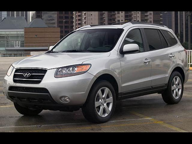 Junk 2007 Hyundai Santa Fe in Lake Saint Louis