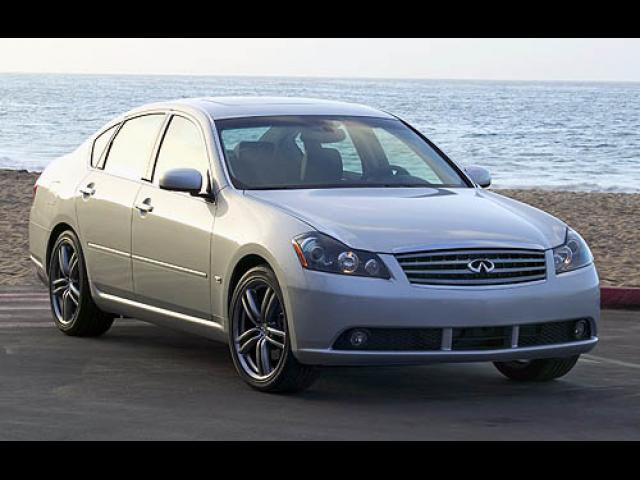Junk 2007 Infiniti M35 in Port Jefferson