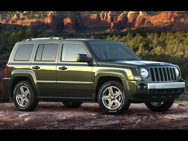Junk 2007 Jeep Patriot in San Antonio