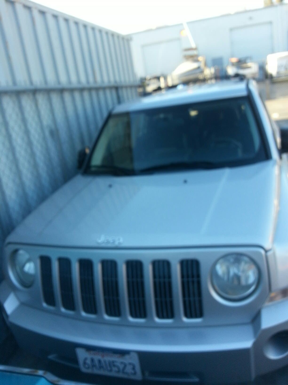 Junk 2007 Jeep Patriot in Vista