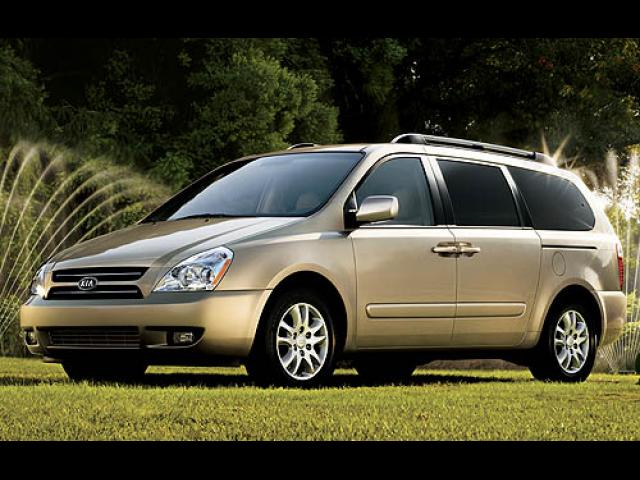 Junk 2007 Kia Sedona in Dallas