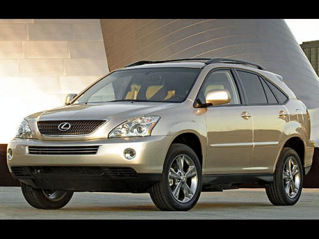 Junk 2007 Lexus RX in Miami
