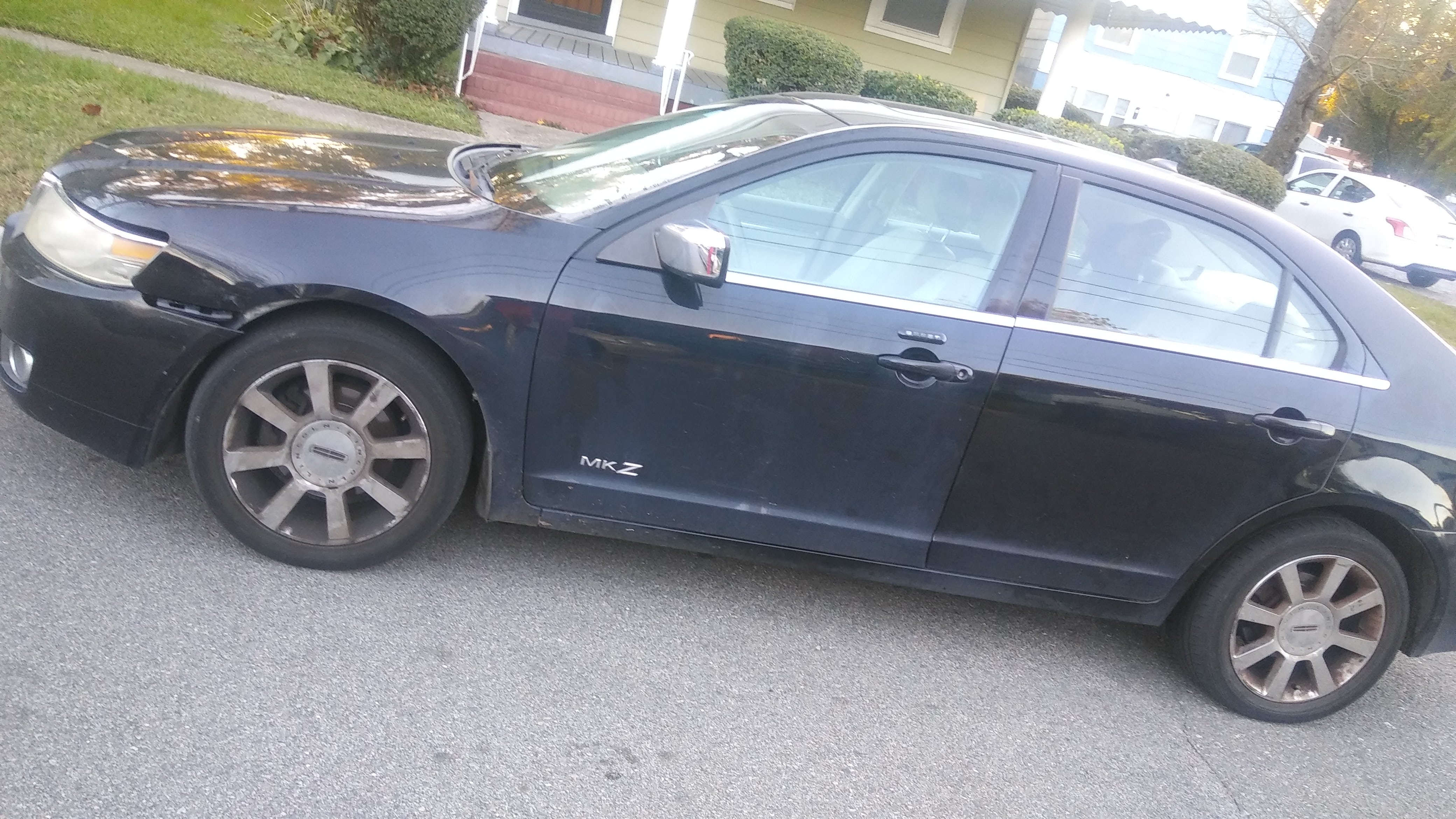 Junk 2007 Lincoln MKZ in Portsmouth