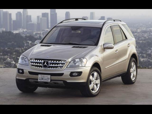 Junk 2007 Mercedes-Benz ML in Woodland Hills