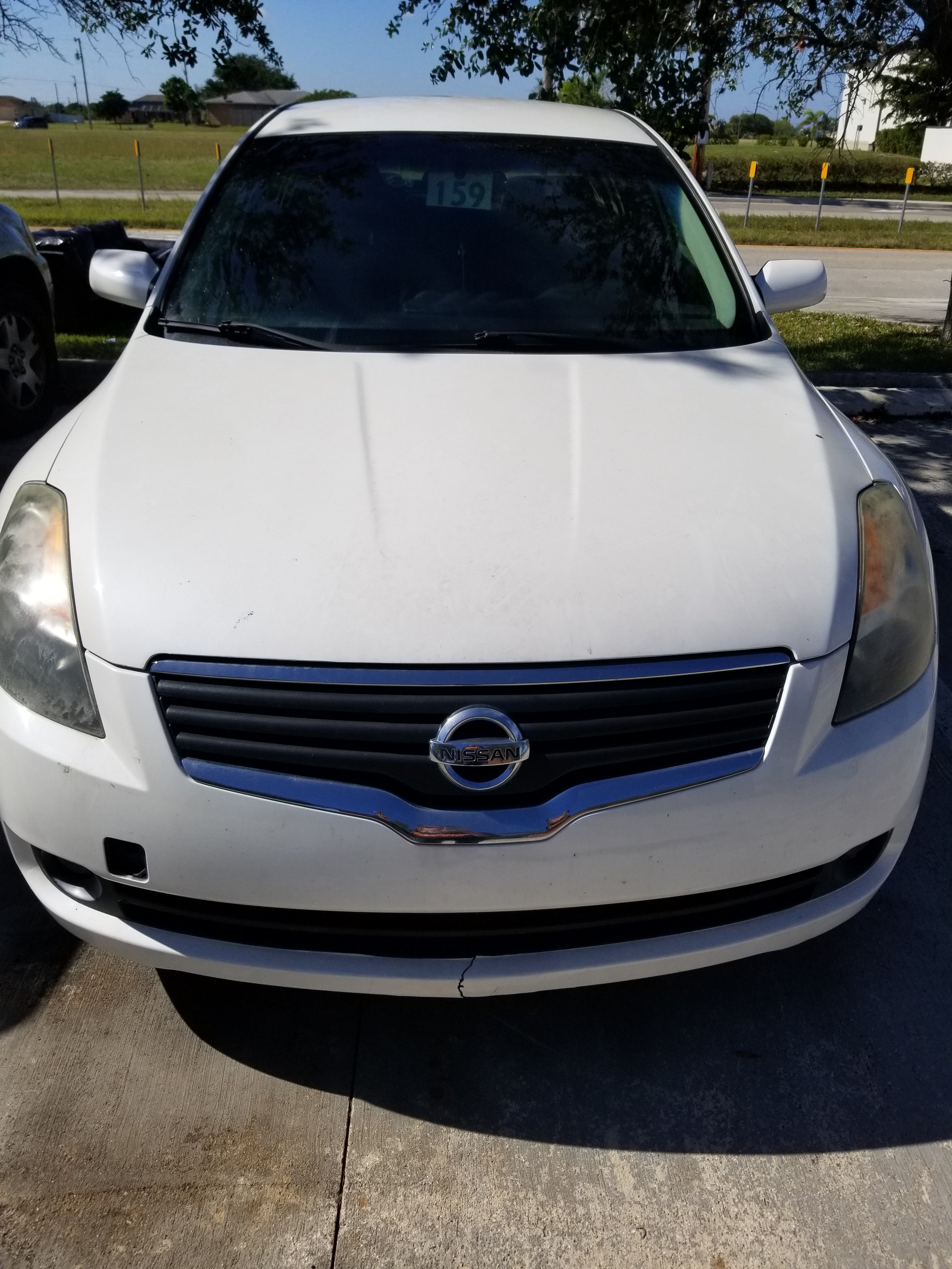 Junk 2007 Nissan Altima in Cape Coral