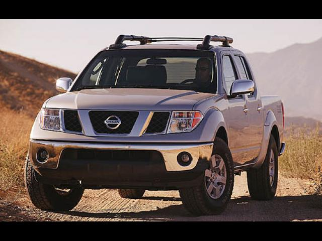 Junk 2007 Nissan Frontier in Grapevine