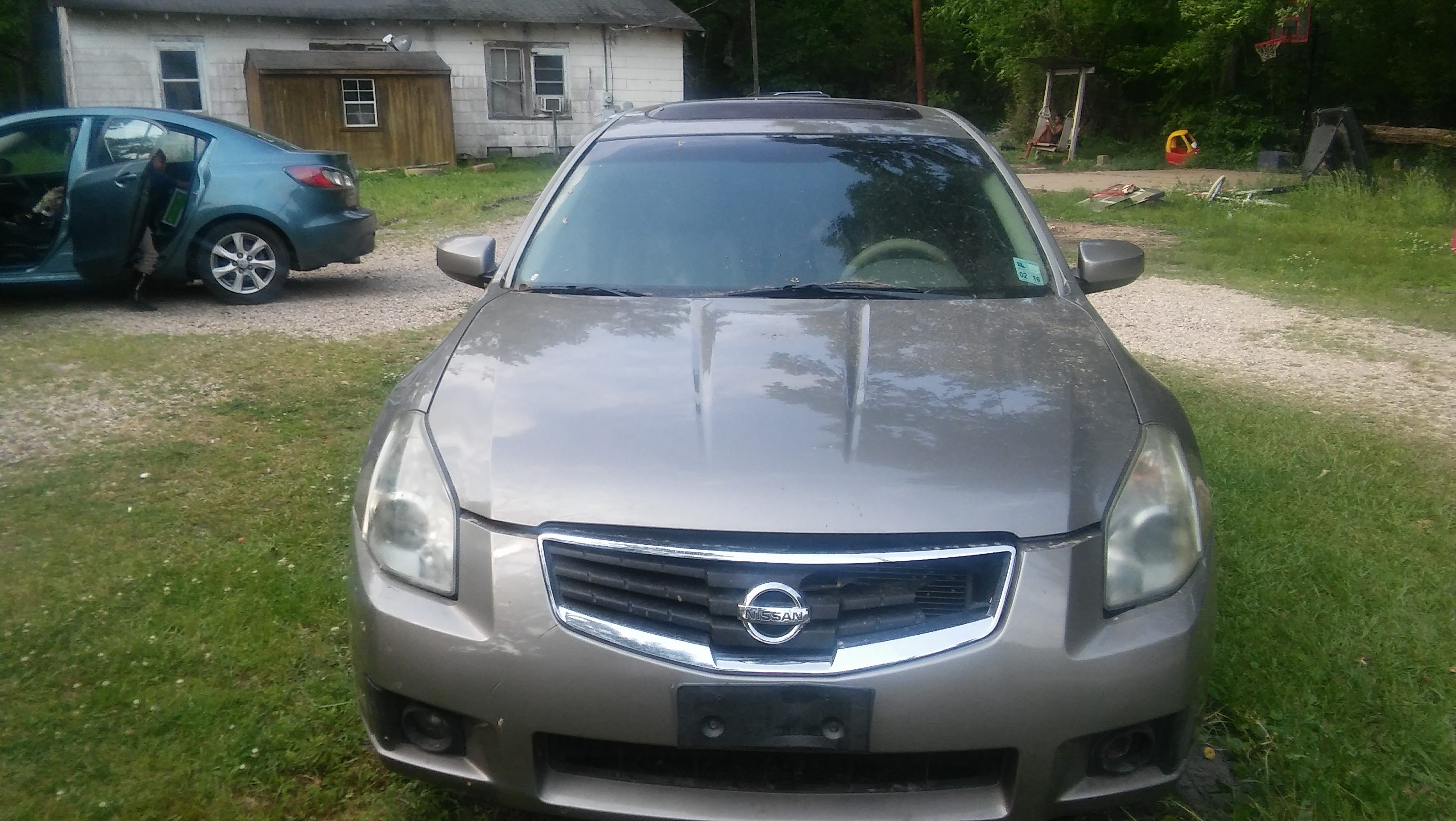 Junk 2007 Nissan Maxima in Livingston