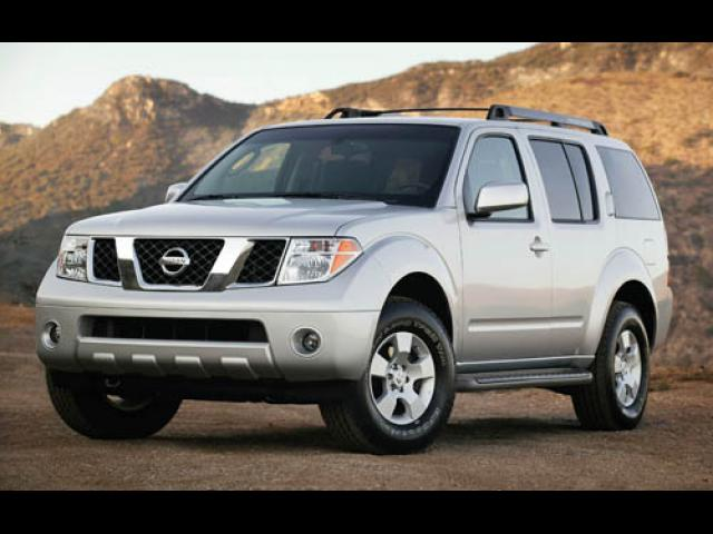 Junk 2007 Nissan Pathfinder in Newark
