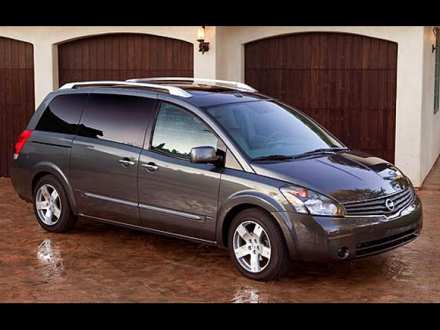 Junk 2007 Nissan Quest in Fort Worth