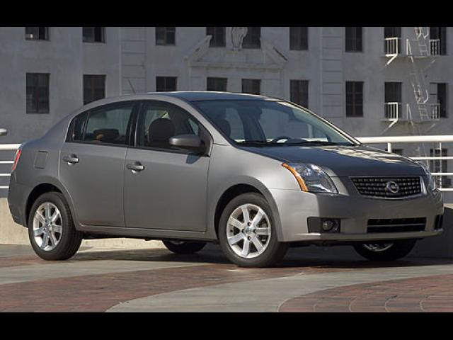 Junk 2007 Nissan Sentra in Houston