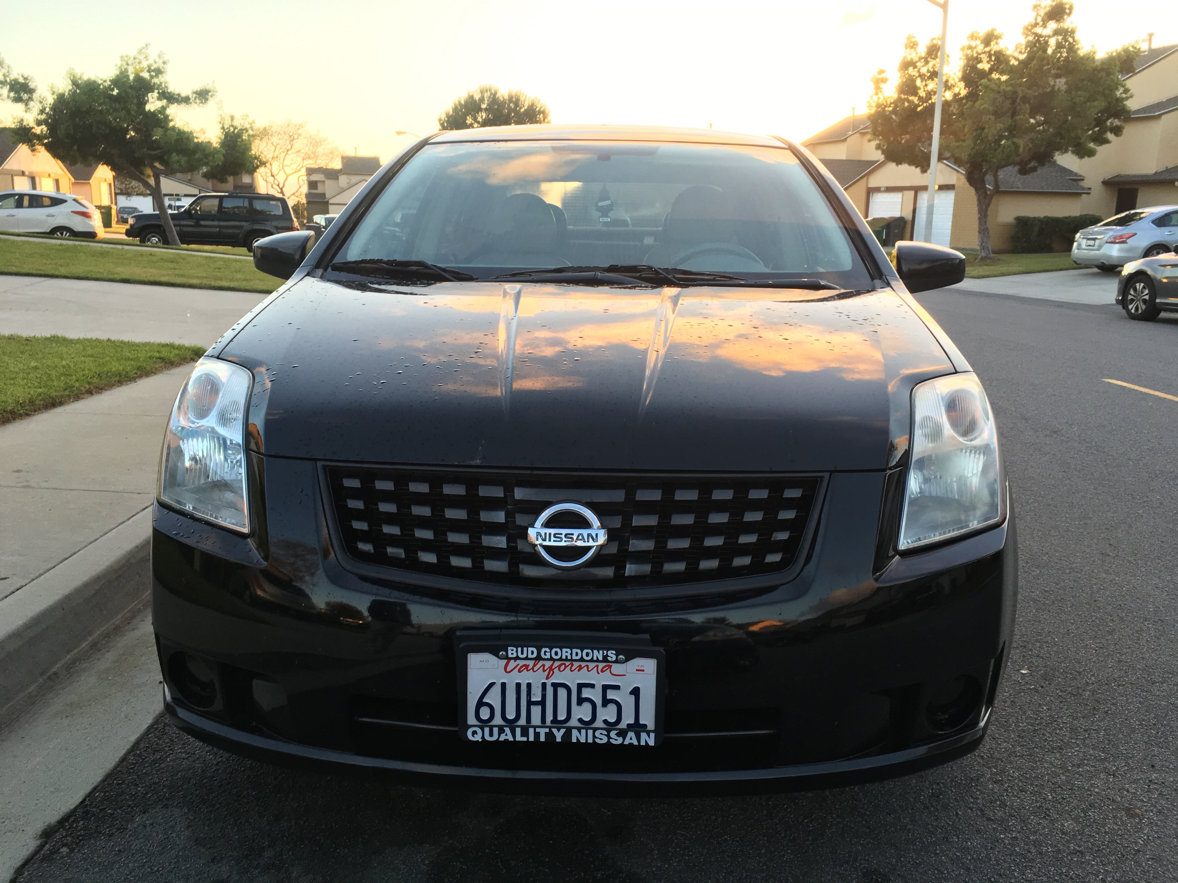Junk 2007 Nissan Sentra in Oceanside
