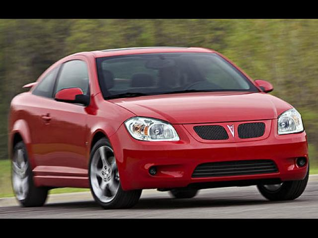 Junk 2007 Pontiac G5 in Pearland