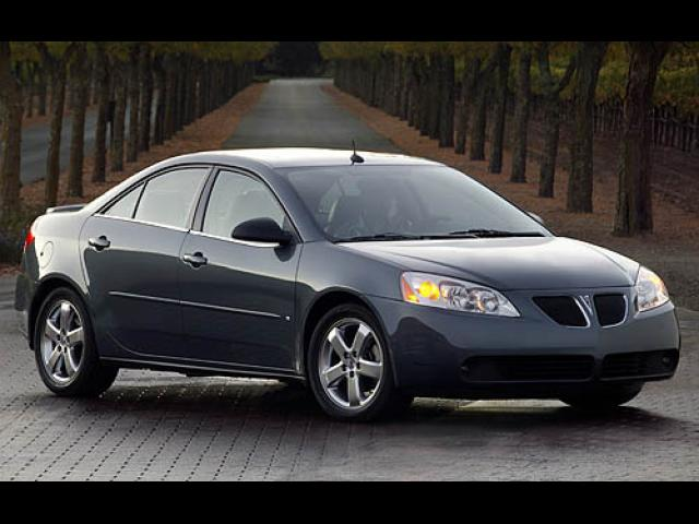 Junk 2007 Pontiac G6 in Redding