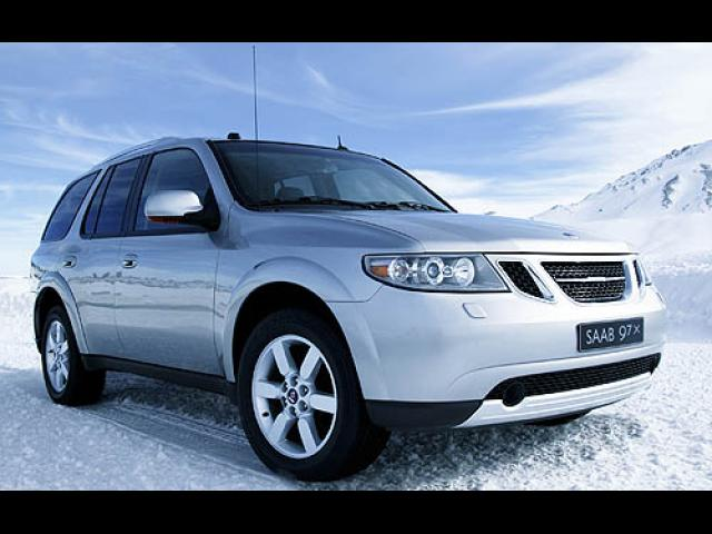 Junk 2007 Saab 9-7X in Cleveland