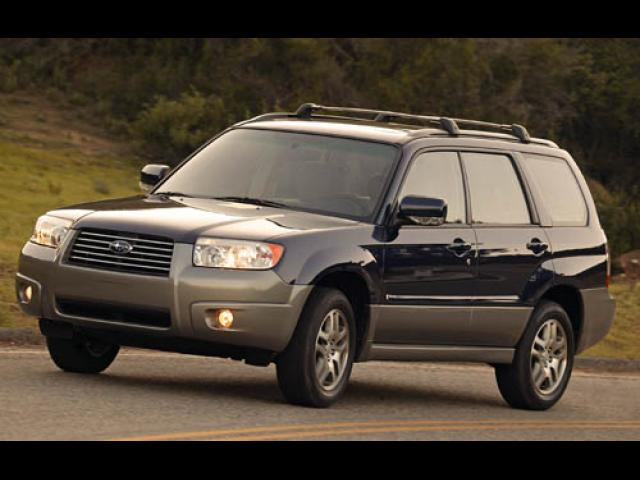 Junk 2007 Subaru Forester in Denton