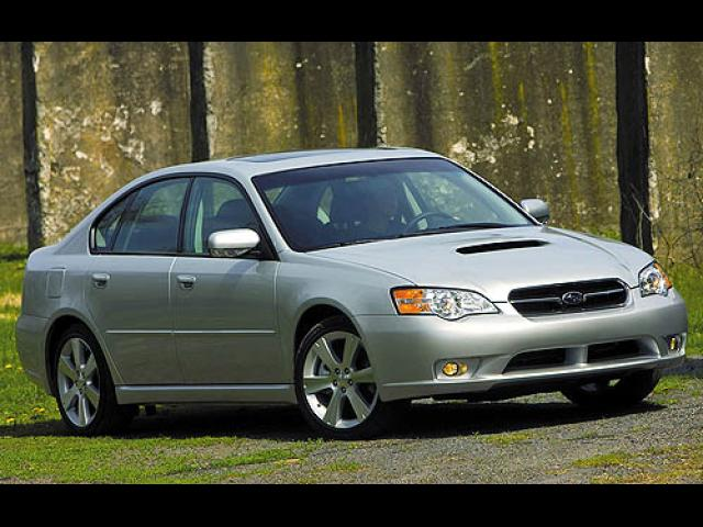 Junk 2007 Subaru Legacy in Massillon