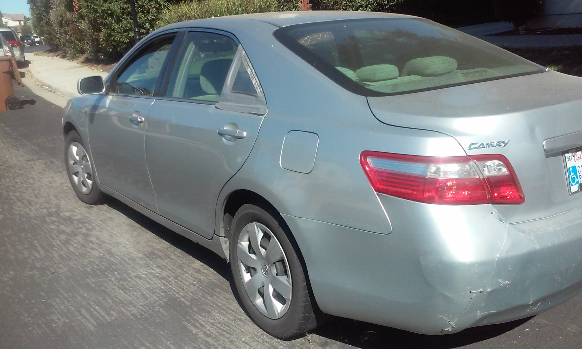 Junk 2007 Toyota Camry New Generation in Brentwood
