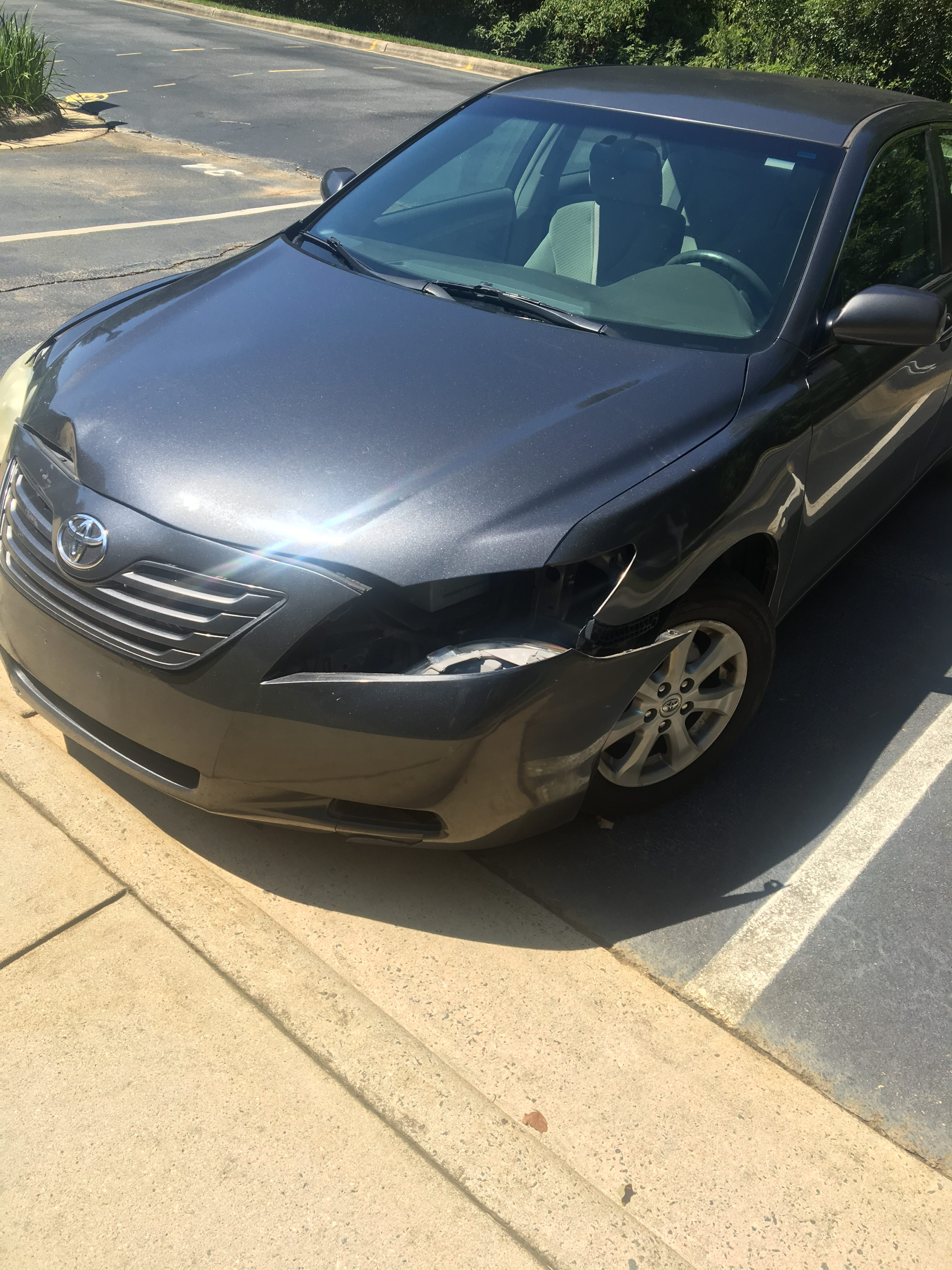 Junk 2007 Toyota Camry New Generation in Charlotte
